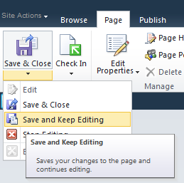 Page Layouts button was disabled