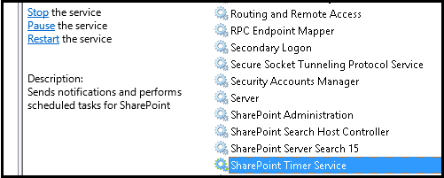 clear configuration cache in sharepoint