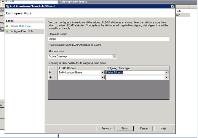 ADFS as Identity provider for SharePoint