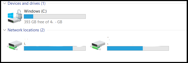 Network drives